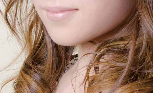 ドレスの唇